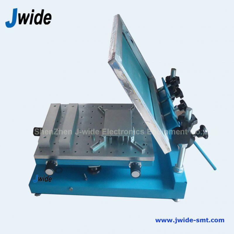 Manual PCB printing machine for small and medium quantity prodution