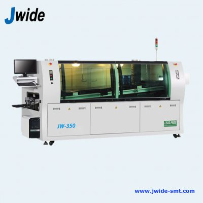Wave solder machine for AI insertion line with lead free