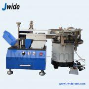 Radial lead forming machine