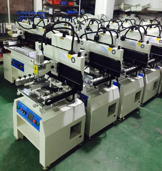 PCB screen printer warehouse